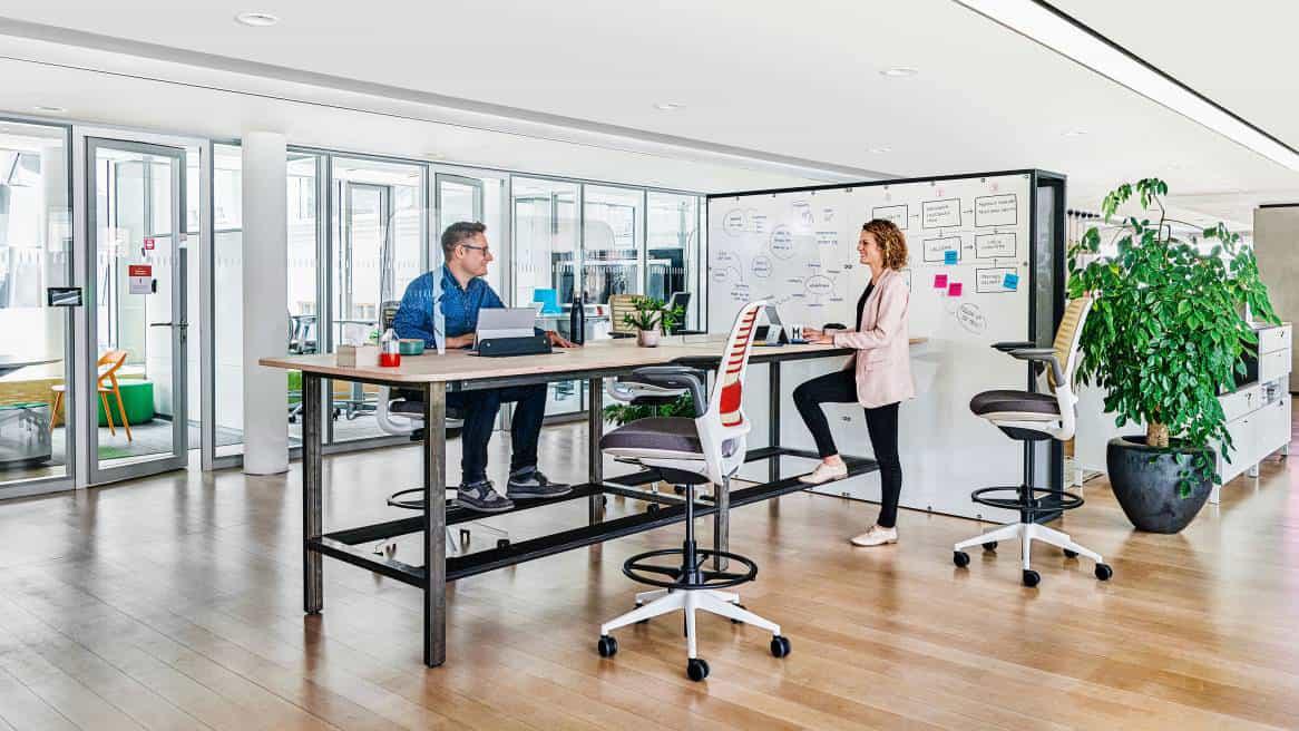 Das Büro der Zukunft